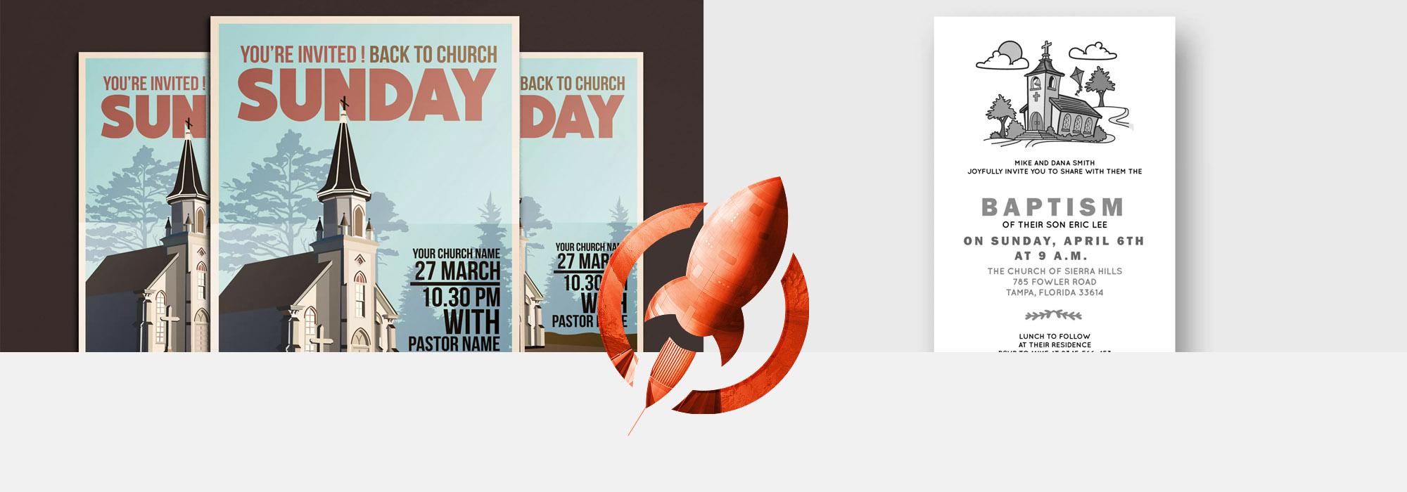 Church Printing Services | Rush Flyer Printing | Same Day Printing