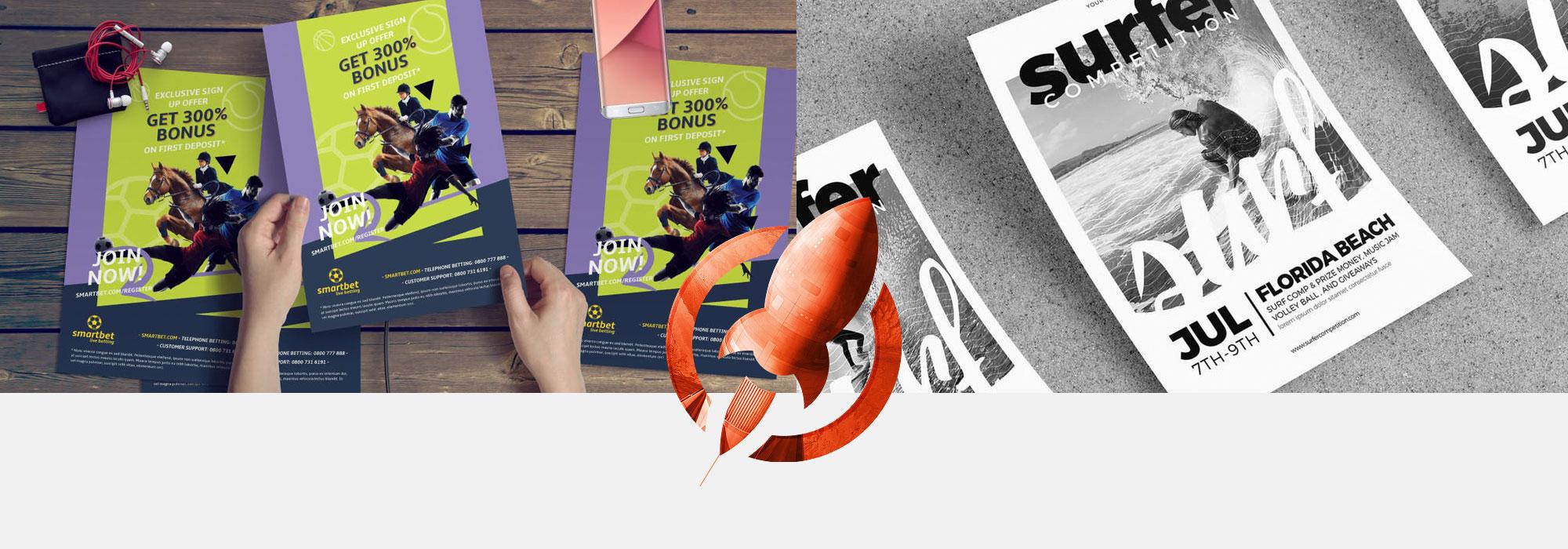 Flyer Printing | Rush Flyer Printing | Same Day Printing