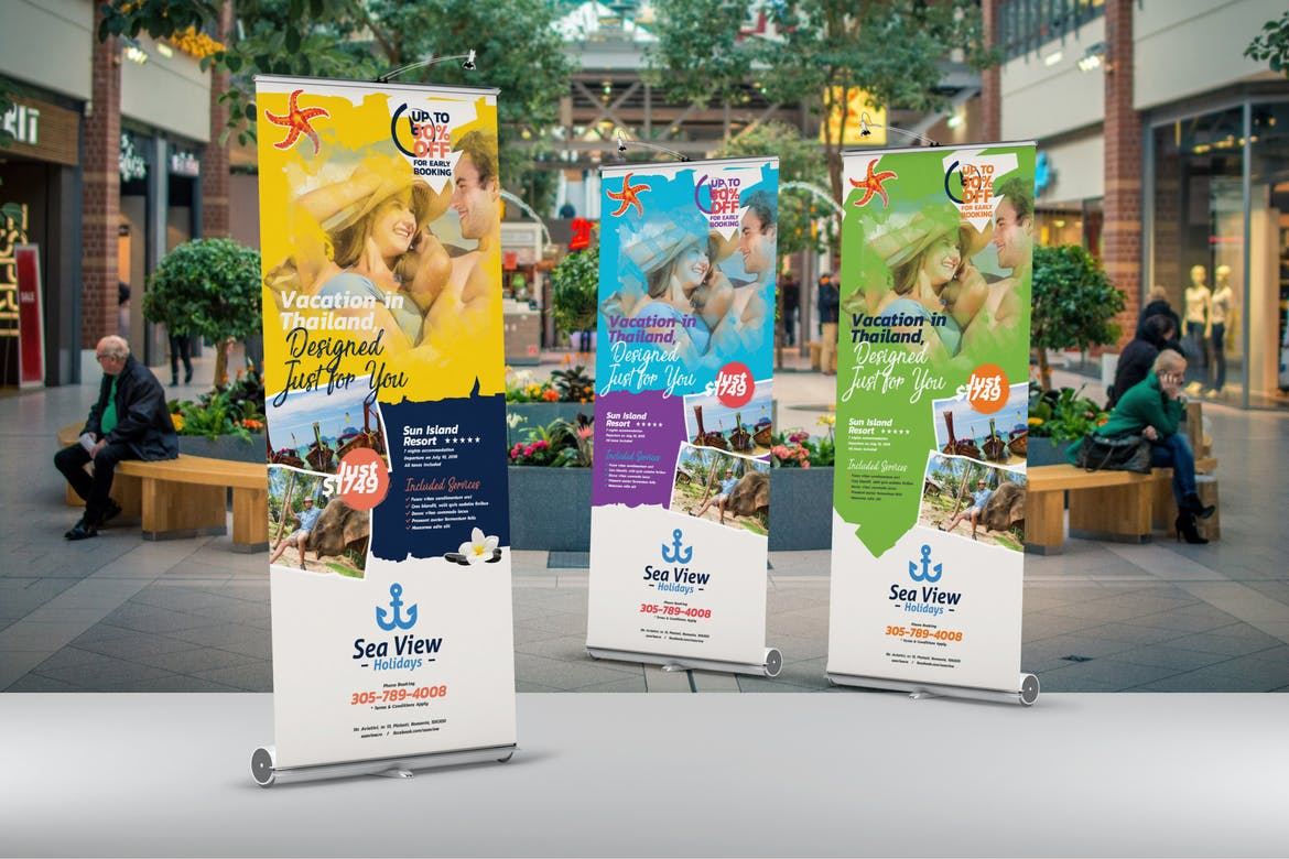 Banners with Stands | Rush Flyer Printing