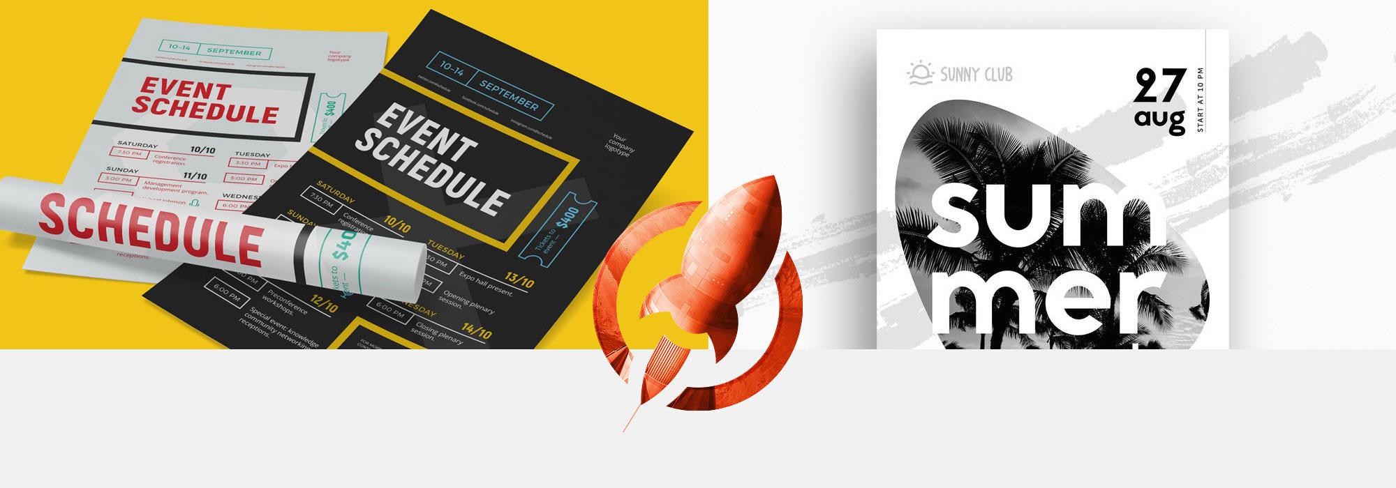Poster Printing | Rush Flyer Printing | Same Day Printing